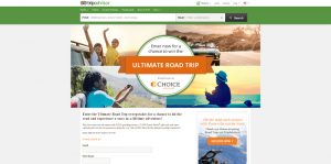 TripAdvisor Ultimate Road Trip Sweepstakes