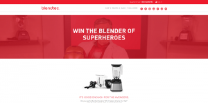 Blendtec Win the Blender of Superheroes Sweepstakes