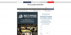 Williams-Sonoma.com Bottlerock Sweepstakes