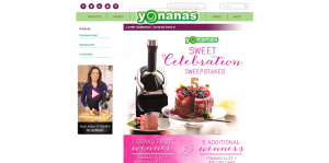 Yonanas Sweet Celebration Sweepstakes