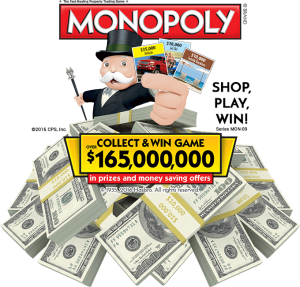 albertsons monopoly 2016