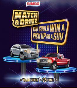 bimbo match and drive