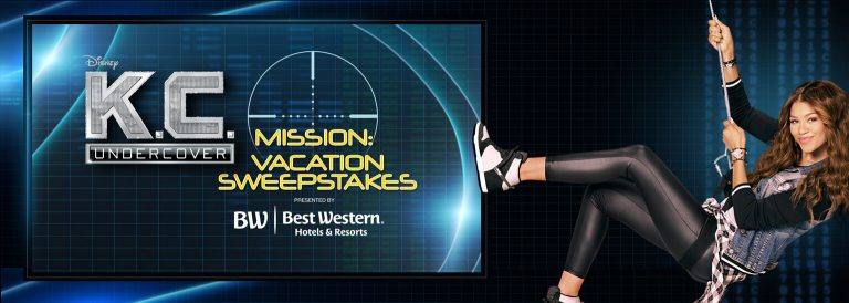 DisneyChannel.com/Mission - Disney Channel KC Undercover Mission Vacation Sweepstakes
