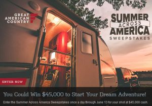 Summer Across America Sweepstakes