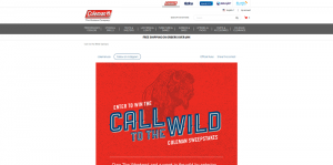 Coleman Call to the Wild Sweepstakes
