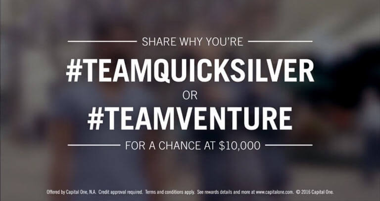 Capital One Team Up Sweepstakes