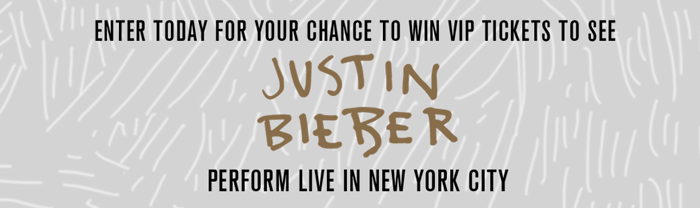 Claires.com/JustinBieberNYC - Claire's Justin Bieber in New York City Sweepstakes