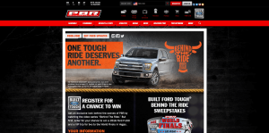 2016 Built Ford Tough Behind The Ride Sweepstakes
