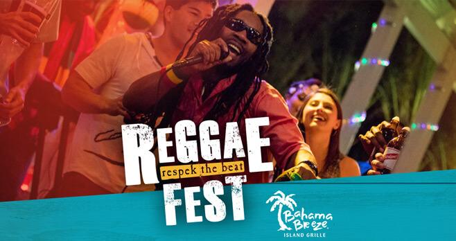 Bahama Breeze Reggae Fest Sweepstakes 2017