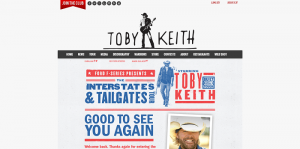 Toby Keith Interstates & Tailgates Sweepstakes