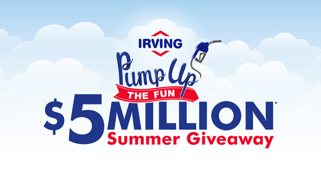 Irving Pump Up The Fun Summer Giveaway 2017