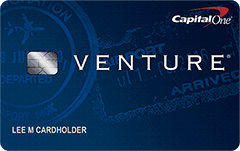 venture credit card from Capital One