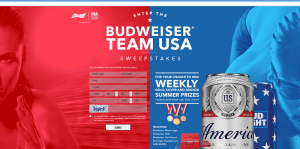 Budweiser Team USA Sweepstakes