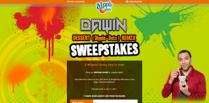 Dawin Dessert Dippin' Dots Remix Sweepstakes