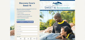 Discovery Cove's Sweet 16 Sweepstakes