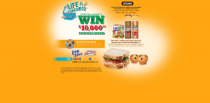 Little Bites Snacks & Nature's Harvest Bread $10,000 Sweepstakes
