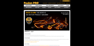 Poulan Pro Battery Series Giveaway