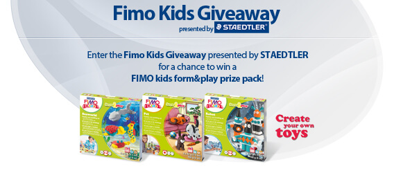 SweepstakesLovers.com Fimo Kids Giveaway presented by STAEDTLER