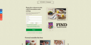 Annie's Cereal Sweepstakes