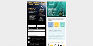 CMA Awards My Big Break Sweepstakes