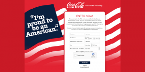 Coca-Cola & Brookshire's USO 75th Anniversary Sweepstakes