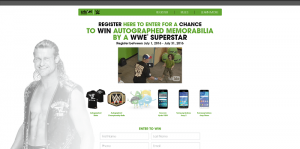 Cricket Wireless WWE Super Star Social Sweepstakes