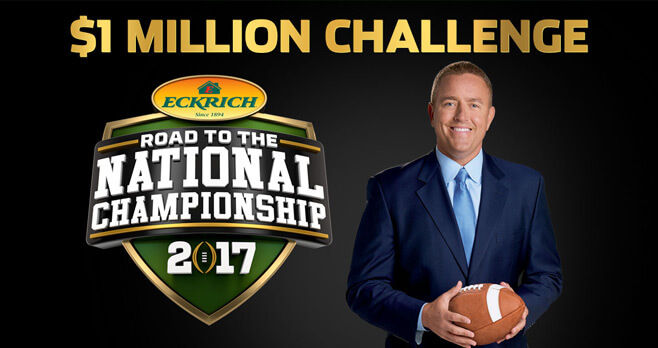 Eckrich Road To The National Championship $1 Million Challenge 2017