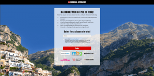 General Assembly Win a Trip to Italy Sweepstakes