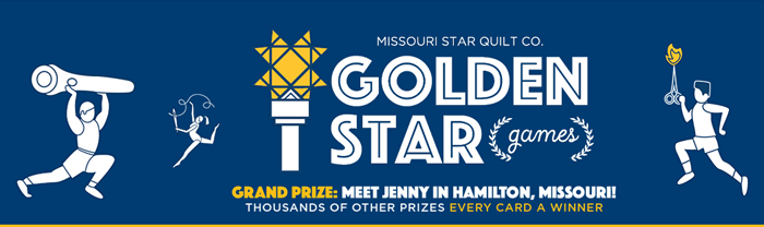 MSQC.co/GoldenStar: Missouri Star Quilt Co Golden Star Games 2016