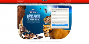 Hotels.com Ice Age Collision Course Sweepstakes