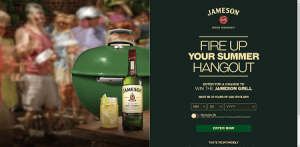 Jameson Summer Sweepstakes