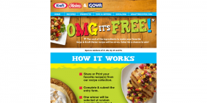 Goya & Kraft Heinz OMG, It's Free! Sweepstakes