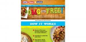 Goya & Kraft Heinz OMG, It's Free! Sweepstakes