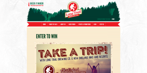 Long Trail Take a Trip Sweepstakes
