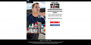 Muscle Milk In The Zone Promotion