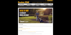 Poulan Pro CleanScape Giveaway