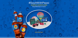 Say It With Pepsi Sweepstakes