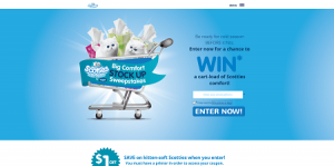 Scotties Big Comfort Stock Up Sweepstakes