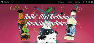 SoBe 21st Birthday Bash Sweepstakes