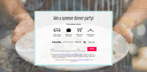 Tasting Table's 2016 Summer Dinner Party Sweepstakes