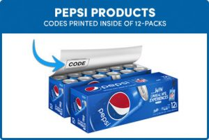 Codes On Pepsi Products