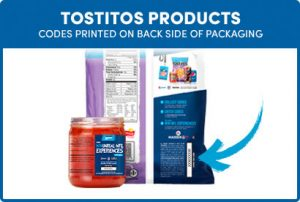 Codes On Tostitos Products