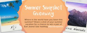 Earl Jeans Summer Snapshot Giveaway