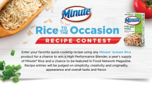 Riviana Foods Rice to the Occasion Recipe Contest