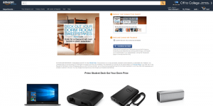 Amazon Deck Out Your Prime Student Dorm Room Sweepstakes