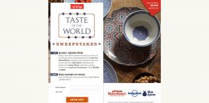 America's Test Kitchen Taste of the World Sweepstakes