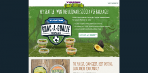 Yucatan Foods Guac-A-Goalie Sweepstakes