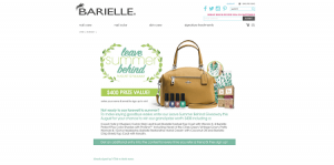 Barielle Leave Summer Behind Giveaway