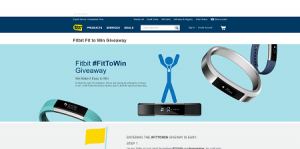 Best Buy #FitToWin Sweepstakes