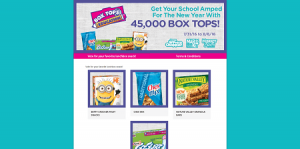 Price Chopper & General Mills Bonus Box Tops Sweepstakes